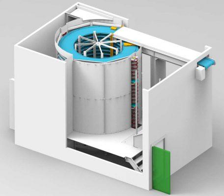 Spirale de refroidissement à entrainement latéral le MTDrive-Cooling